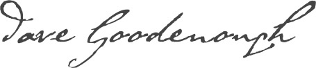 Dave Goodenough signature