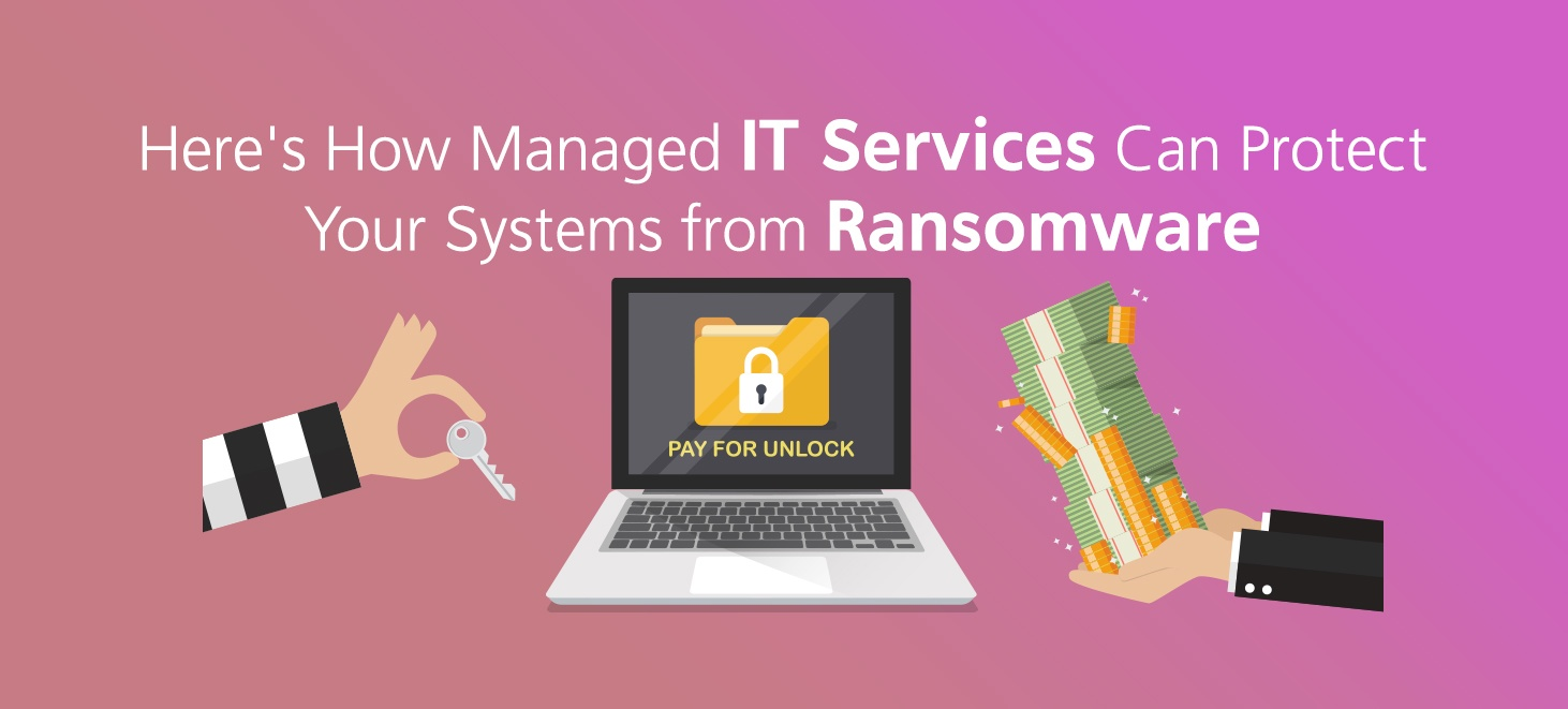 How Managed IT Services Can Protect from Ransomware
